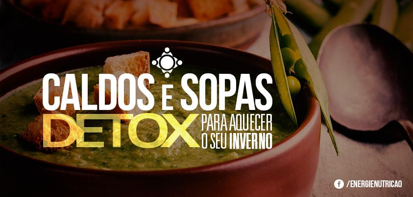 sopa detox com variados legumes