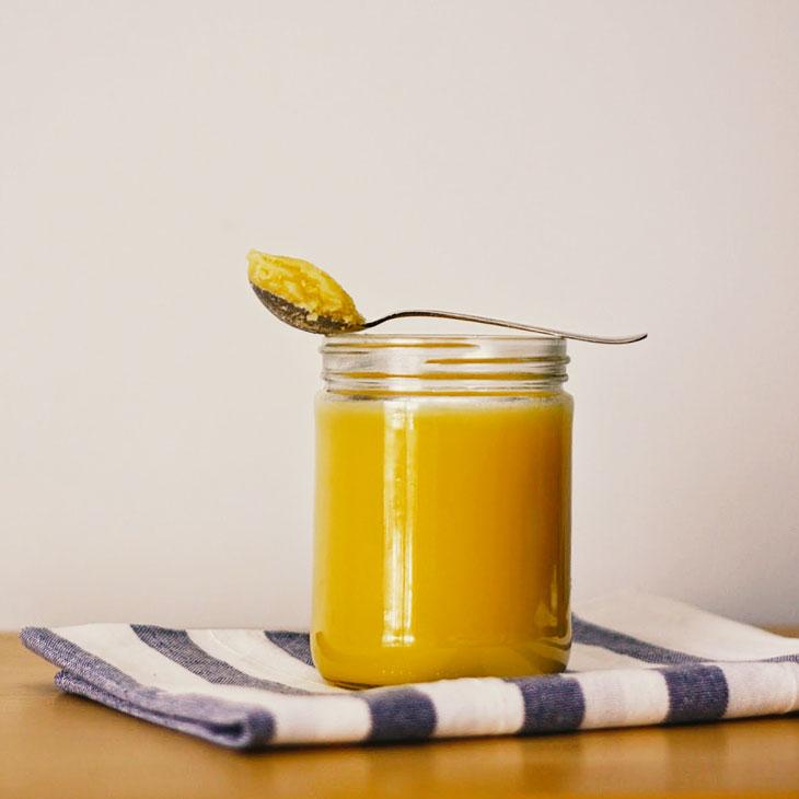 Substituir Margarina por Manteiga Ghee