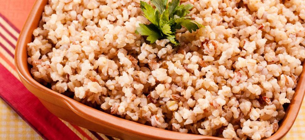 Arroz Integral - fontes de proteínas vegetais