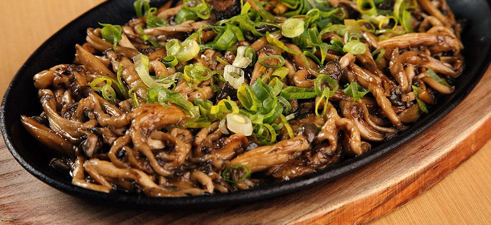 Cogumelos - fontes de proteínas vegetais