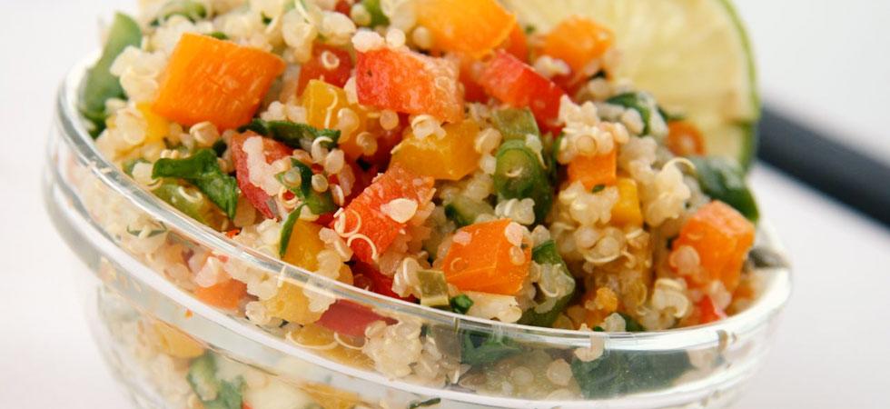Quinoa - fontes de proteínas vegetais