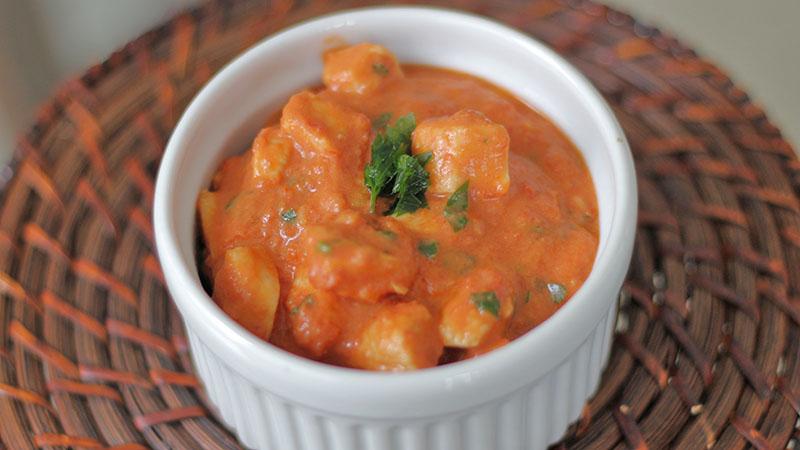 Frango delicioso - Estrogonofe de frango saudavel