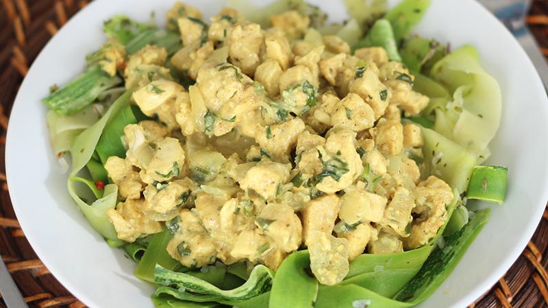 Frango delicioso - Frango ao curry
