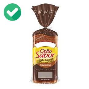 pao integral de verdade - lista de ingredientes - pão 2