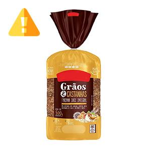 pao integral de verdade - lista de ingredientes - pão 3