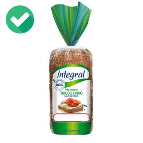 pao integral de verdade - lista de ingredientes - pão 4