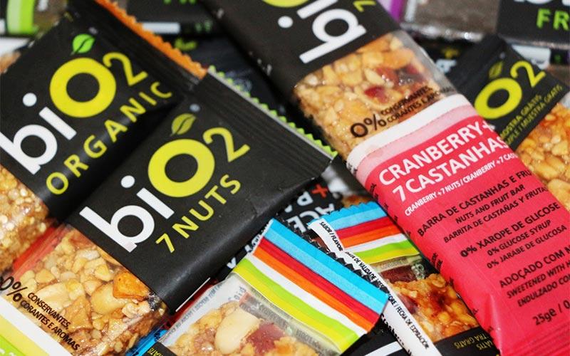 snacks saudáveis - bio2 organic snacks - barrinha