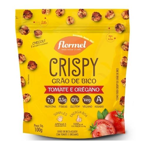 snacks saudáveis - flormel crispy de grão de bico